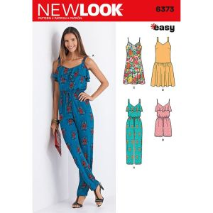 New Look Jumpsuit Pattern for Refashion