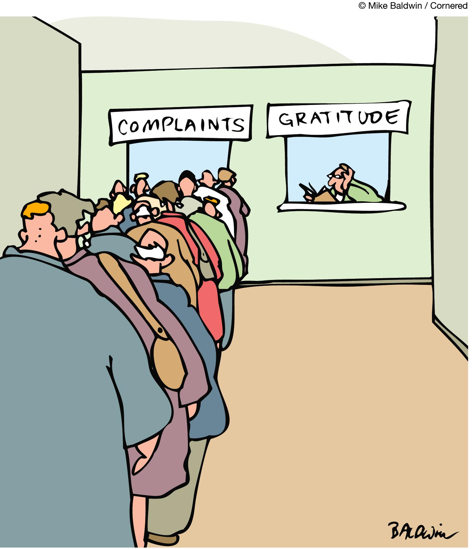 Despite all my shortcomings, I have much to be grateful for.